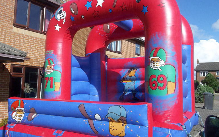 American Football Bouncy Castle