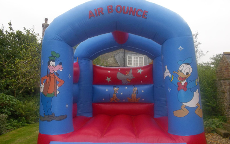 Goofy & Donald Duck Theme Bouncy Castle