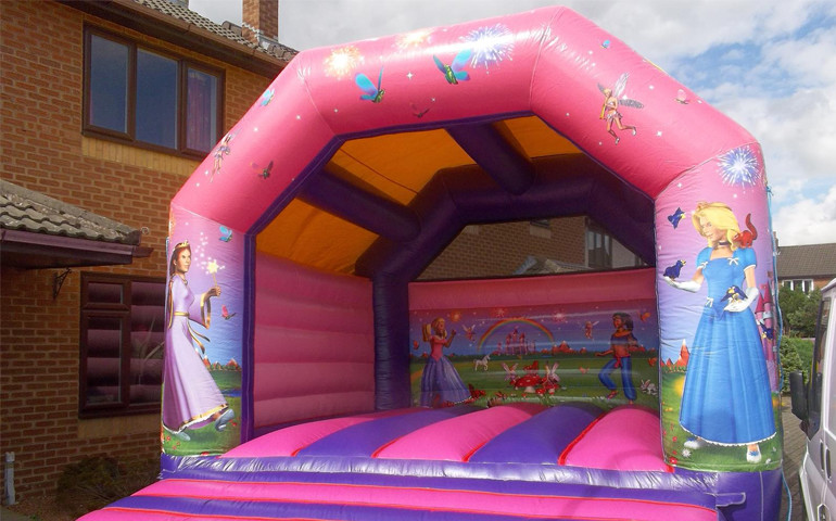 Princess Theme Bouncy Castle