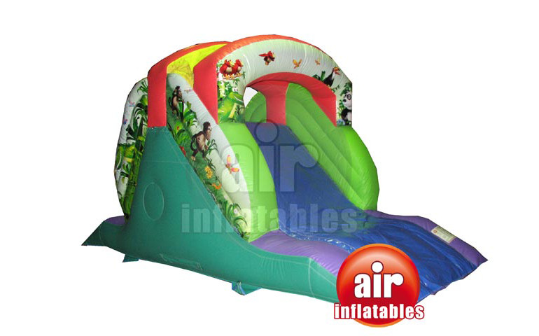 jungle bouncy castle super slide