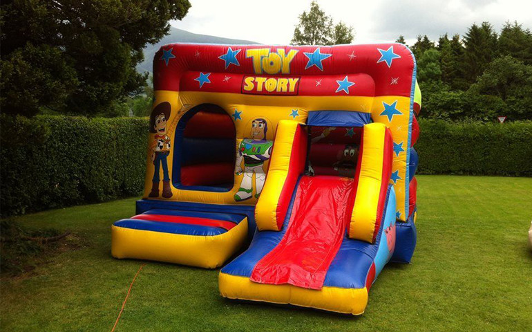 toy story bouncy castle super slide